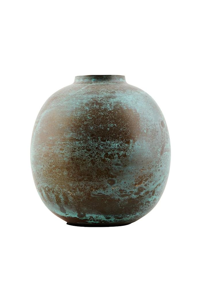Vase Effect Ø 13x14 cm - Grønn