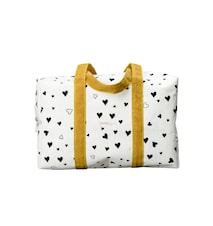 Väska, Barn, Love, Svart/Vit