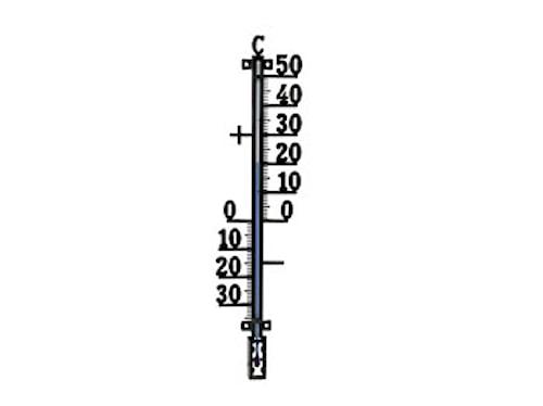 Uteterm. 44cm 424 Plus Svart