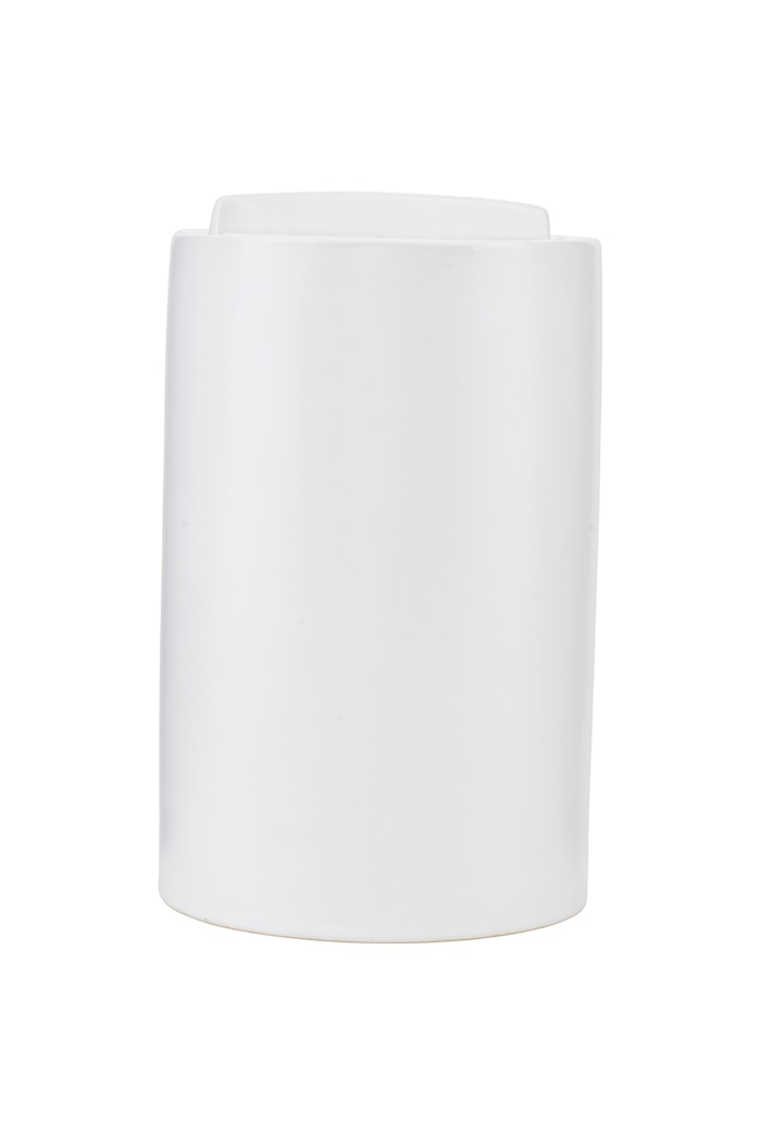 Förvaringsburk Clean Ø 12,5x20 cm - Vit
