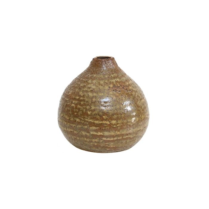 Vas i Keramik Brun