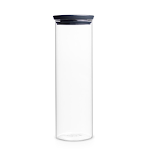 Stackable Jar 1.9 Liter Glass / Grey lid