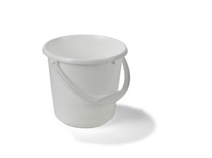 Muoviämpäri 5L valkoinen pohjoism.