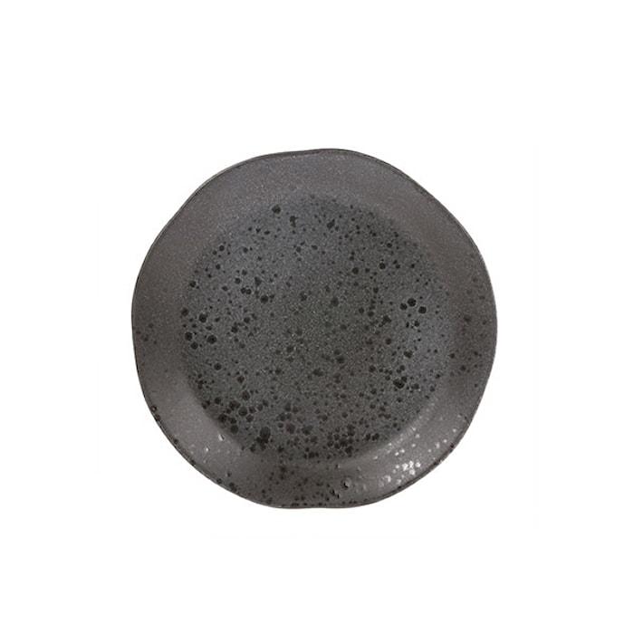 Bold & Basic Keramik Tallerken Grå