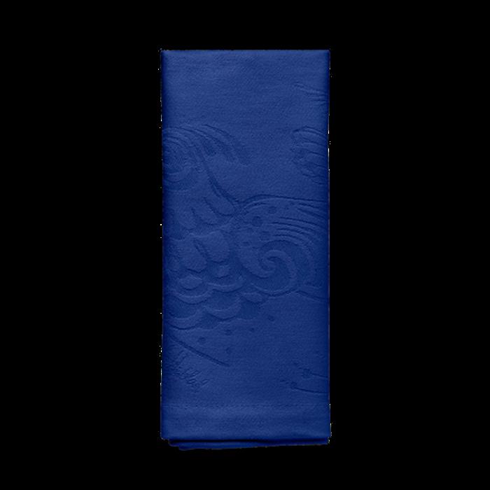 Tygserviet Birds blå 45x45 cm