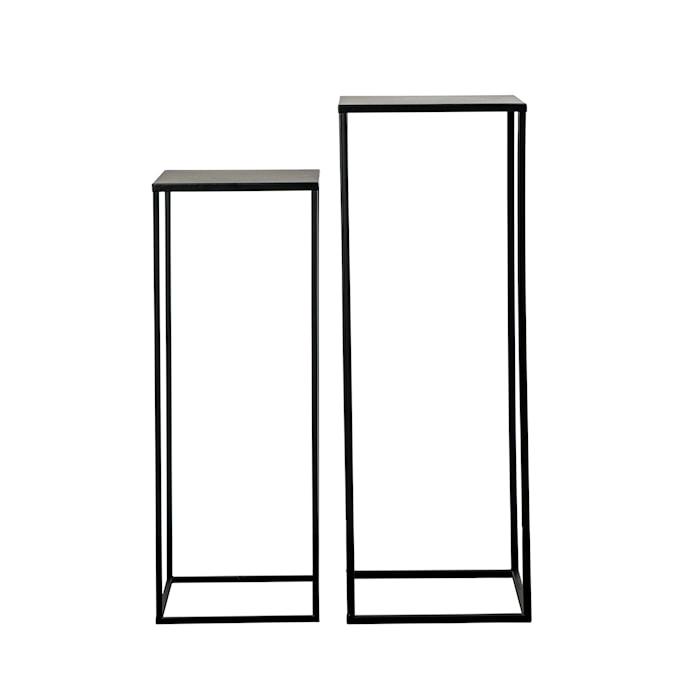 Piedestal Metall Set om 2 70cm/60cm
