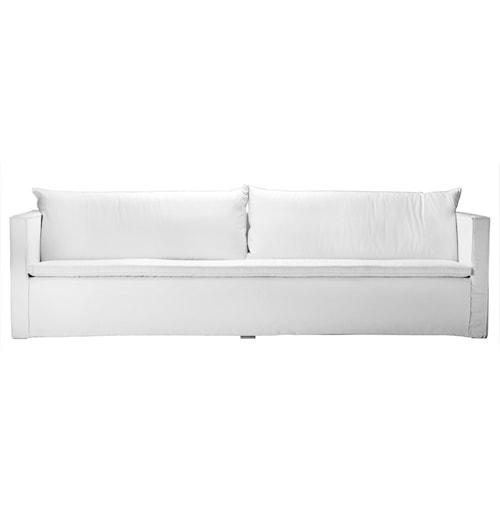 SOFAXL 3-seter sofa - Hvit