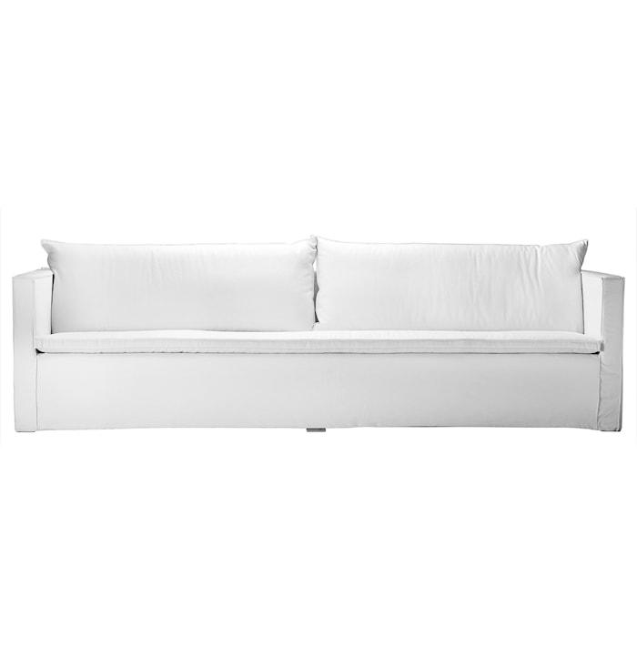 SOFAXL 3-sits soffa - Vit
