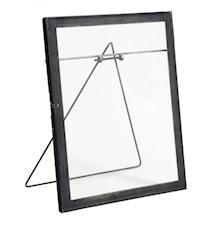 Photo frame f/standing, large, black