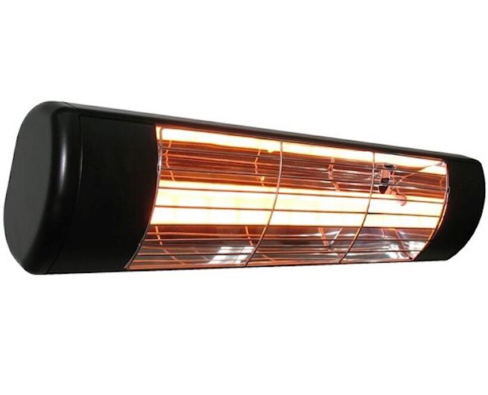 Heatlight Quartzvarmer HLW20 sort