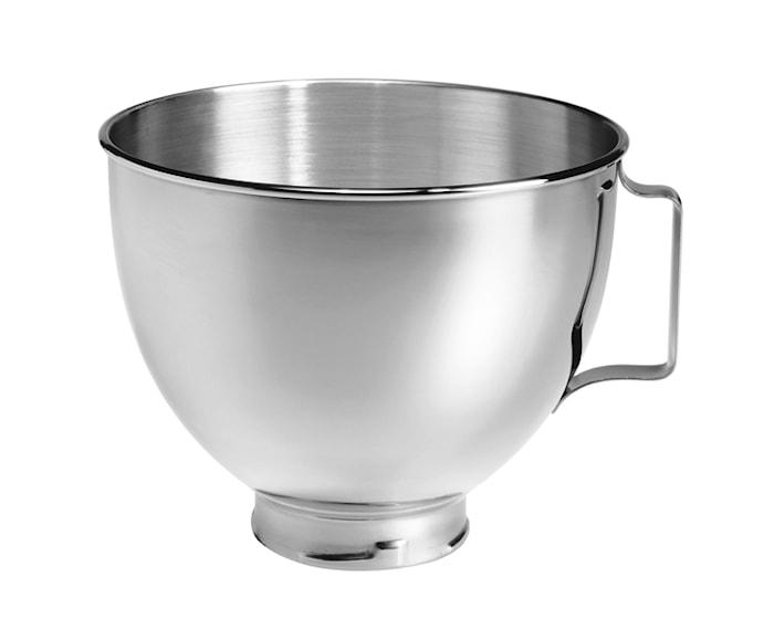 Artisan skål til køkkenmaskine stål 4,3 liter