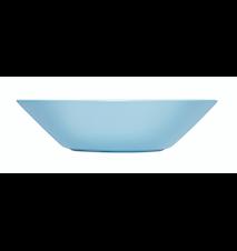 Teema tallerken dyb 21 cm lyseblå