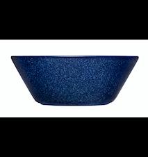 Teema skål 15 cm melerad blå