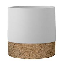 Kruka Keramik Korkbotten