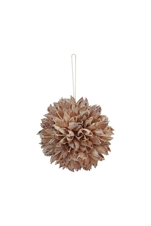 Ornament Seeds Ø 8 cm - Beige