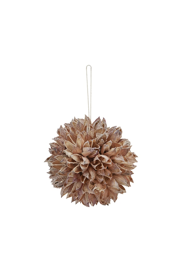 Ornament Seeds Ø 8 cm Beige