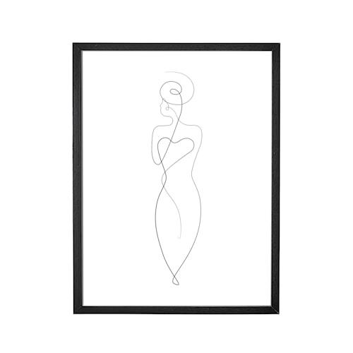 Poster med tavelram 35x45 cm