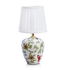 Mansion Bordlampe 1L Små Mønster/Hvid