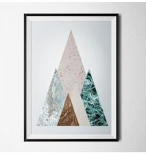 Minimal marble 3 poster