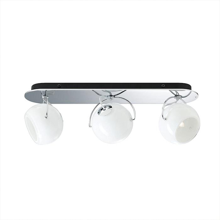 Beluga 3 væg/taglampe – Hvid