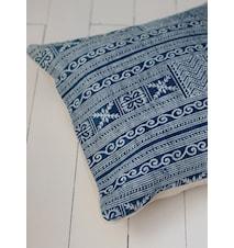 Putetrekk Bali Blå/Hvit 50x50 cm