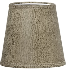Lampskärm Queen Läder Beige