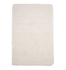 Crochet Matta Vit 90 cm