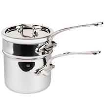 Cook Style bain-marie kattila posliinilla