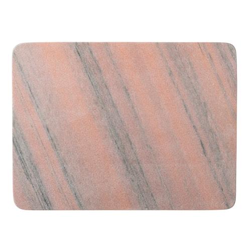 Skjærebrett Marmor 40 cm - Rosa