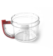 Arbejdsskål rød, 2,8 liter