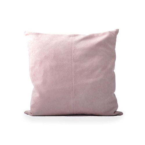 Kuddfodral Fake Suede 50x50 - New Dusty Pink