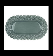 DITSY Oval Tallrik Cement 26 cm