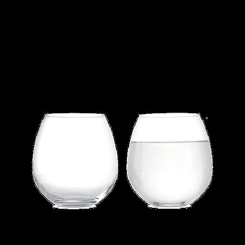 Premium Vattenglas 52 cl klar 2 st.