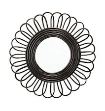 Mirror, Black, Cane