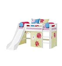 Basic slide loftsäng – Butterfly sängpaket