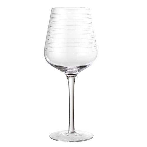 Vinglass clear Ø10Xh25 cm