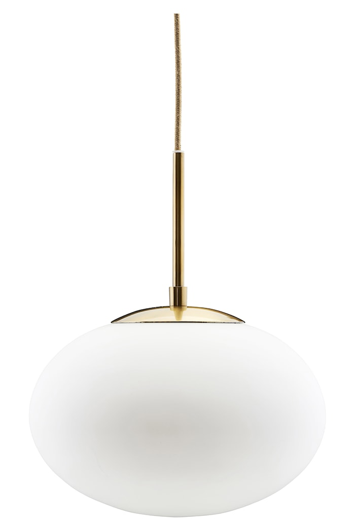 Taklampa Opal Ø 30x35cm Vit