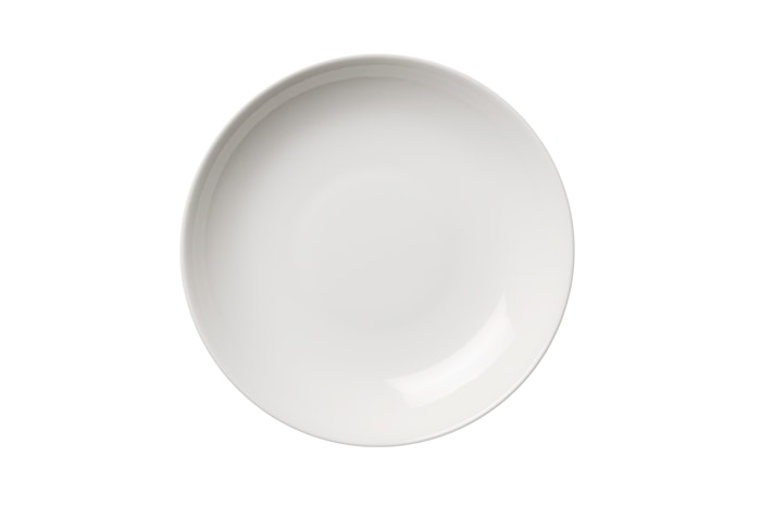 24h Pastatallerken 24 cm hvid