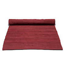 Cotton matta - Rosewood red
