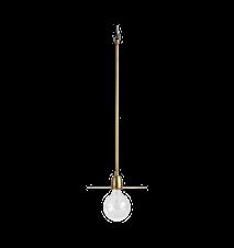 Taklampa LP Ø 27x70 cm - Mässing