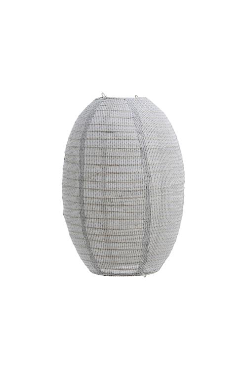 Lampeskjerm Stitch Lysegrå - 30x40 cm