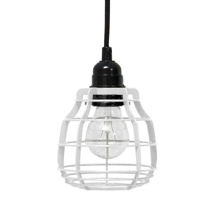 Taglampe/Pendel Hvid