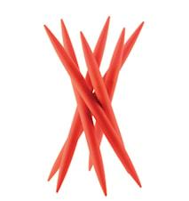 SPICY Knivstativ med 6 st kødknive Orange