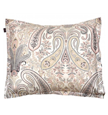Key West Paisley Örngott 50x60 Light Pink