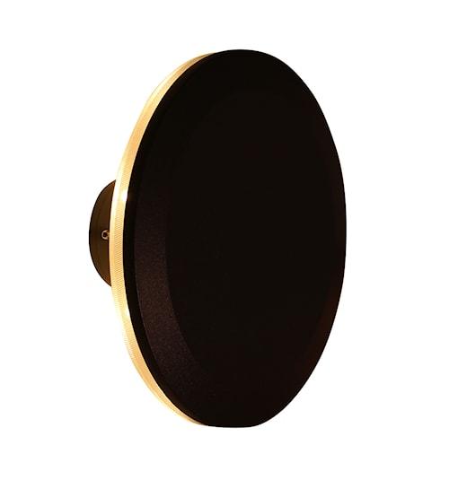 Nomad Vägglampa Cirkel Mörkgrå