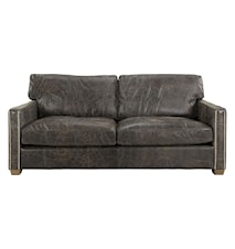 Viscount soffa - 2-sits, Leather fudge
