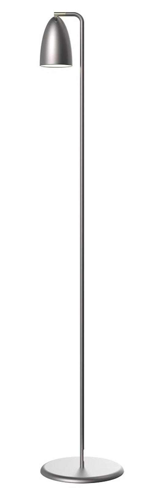 Nexus 10 golvlampa - Borstat stål