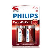 Fashion Power Alkaline C LR14 2-pack
