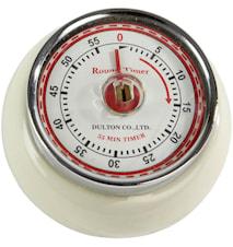Timer Ben Hvit 7,5 cm