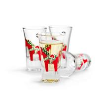 Dalahäst snaps glas 4,5cl 4-pack